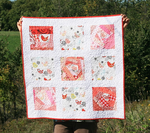 Fat Stash Bee - 1st Quilt Finished