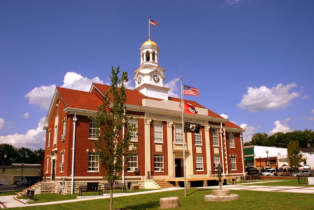 Cannon County Courthouse (2011) - Woodbury, TN