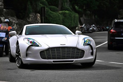 1 of 77 (Marleton) Tags: monaco 2011 astonmartinone77