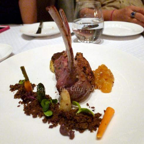 Lamb Rack in Granola Bar Crust