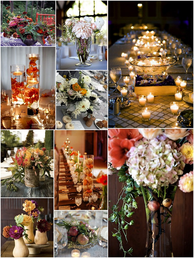 Fall Centerpieces Eco Beautiful Weddings The E Magazine Blog