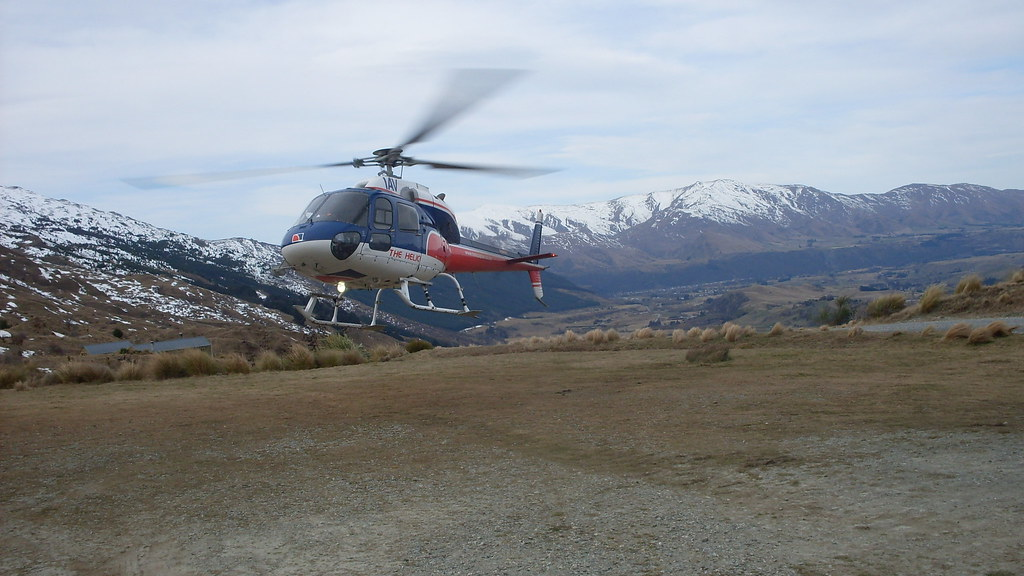 Helicopter Ride in Queenstown New Zealand - Flight Centre NZ