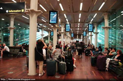 London St.Pancras International Station - Eurostar Departure Lounge