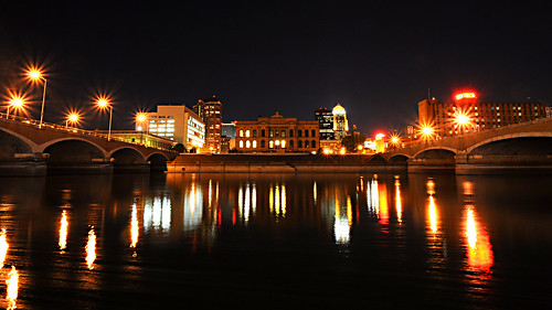 Day 255 - Des Moines Riverfront by Tim Bungert