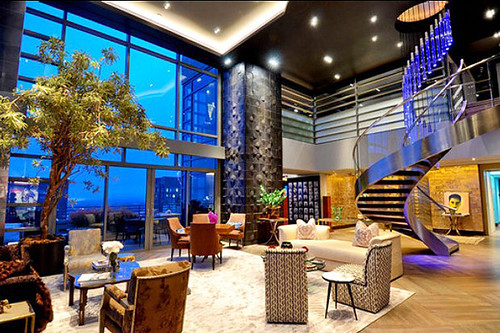 Manhattan, New York Luxury Penthouse, A Home on Top of the World ...