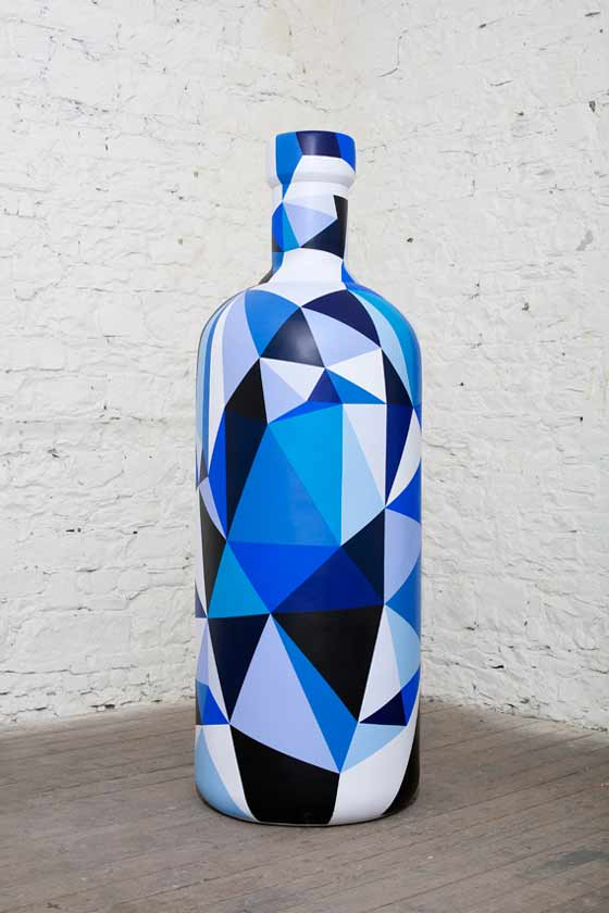 botellas absolut vodka