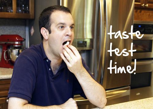 Mike tastes...