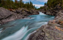 Cold River (Usstan) Tags: longexposure water norway creek norge waterfall nikon hdr cokin 3xp nd8 1685mm d7000
