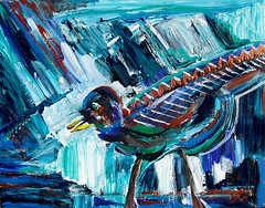 "Picasso Bird • <a style=""font-size:0.8em;"" href=""https://www.flickr.com/photos/78624443@N00/6153547668/"" target=""_blank"">View on Flickr</a>"