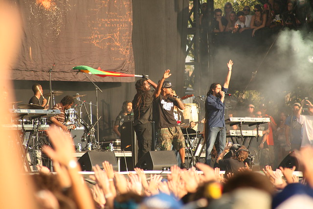Nas and Damian Marley at Austin City Limits 2011