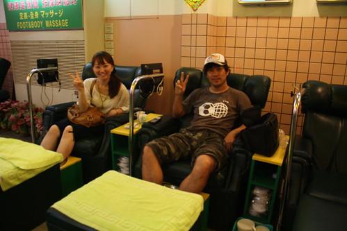 [台湾2.5] なぜか友達の嫁とマッサージに行く。