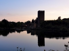Oasis of Ninfa, Italy (Claudio Cavalensi) Tags: sky italy clouds canon landscape italia ninfa yahoo:yourpictures=skyline yahoo:yourpictures=reflections yahoo:yourpictures=landscape