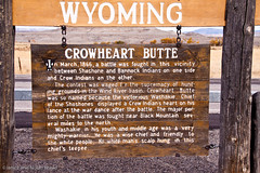 Crowheart Butte in Wyoming JN039994 (JaniceNolan_braud) Tags: autumn mountain history fall butte historic nativeamerican wyoming historicsite battlesite shoshoneindians crowheartbutte crowindians