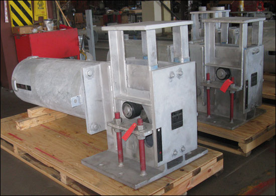 U-Type Constant Springs Custom Designed for Large Travel for an Oil Refinery