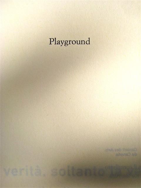 Helen Humphreys, La verità, soltanto la verità; Playground 2011. Graphic designer: Federico Borghi, alla cop.: fotg. col.: ©Diana Pinto. Copertina (part.), 10