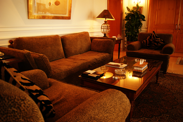 Living Room Presidential Suite