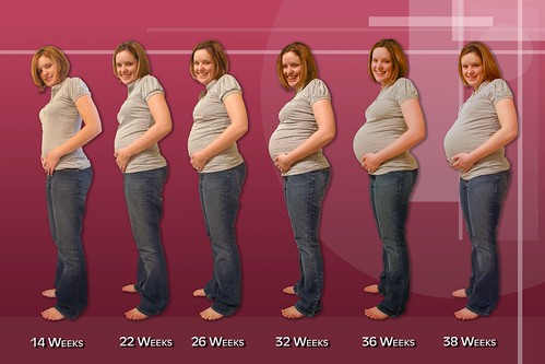 Real pregnancy progression