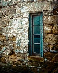 Blue Blue Windows (Sky Noir) Tags: blue windows urban philadelphia stone us state decay haunted prison jail philly eastern esp crusty uban helpless penitentiary skynoir bybilldickinsonskynoircom