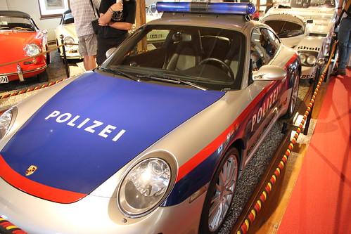 Porsche Polizeiauto