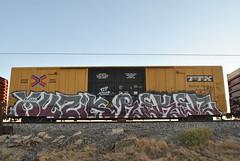 Muzik, Reken (nunya...nunyabusiness) Tags: art train graffiti paint spraypaint muzik ttx endtoend e2e reken