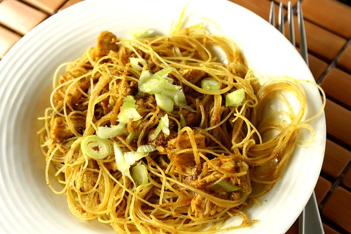 $5 Takeout Cookbook Singapore Noodles