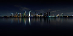 san diego skyline (p r i m e r) Tags: california longexposure color skyline sandiego