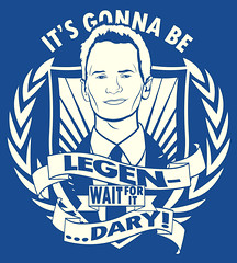 Legen...Wait For It....Dary (Tom Trager) Tags: tv cool funny mother patrick neil legendary your how harris met dary barney vector stinson waitforit himym legen