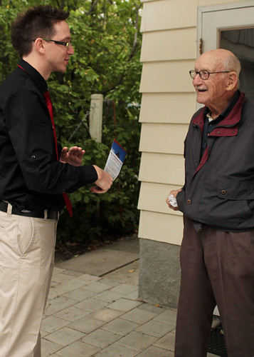 Talking with more residents