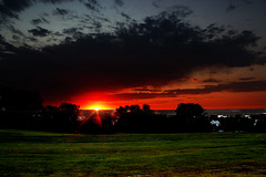 Eve-ning (nick88078807) Tags: sunset usa sun storm saint night clouds america joseph evening dusk september missouri geotag stormnight cloudsstormssunsets regionwide