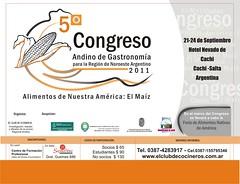 Cachi: 5to Congreso Andino de Gastronomía