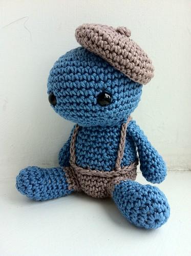 Horge - crochet creature 3