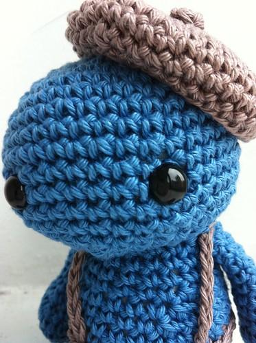 Horge - crochet creature 1