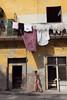 Linge (hubertguyon) Tags: street city woman island walk femme cuba ile laundry habana rue linge ville amérique marcher amériquelatine havane