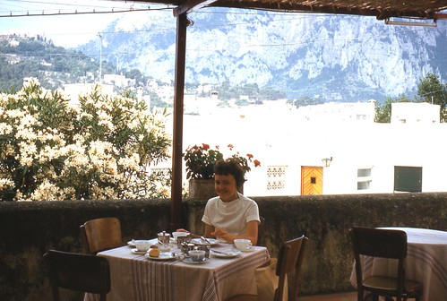 Breakfast on Terrace Capri