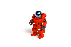 R.E.D. Suit (Cam M.) Tags: boss red cool lego awesome mecha mech hardsuit
