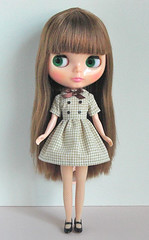 gingham double dress