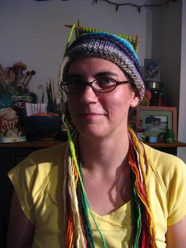 Rainbow Hat