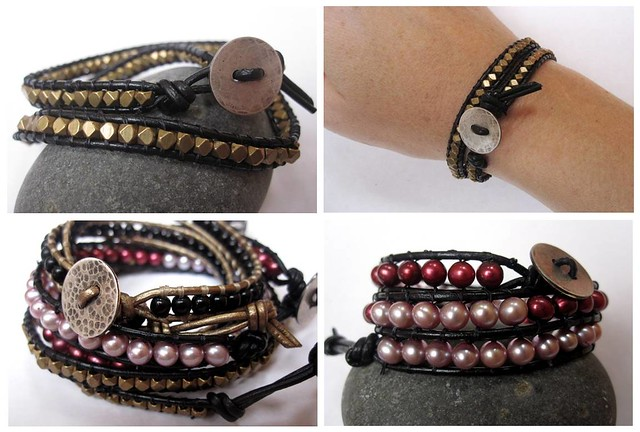 beaded leather wrap 03