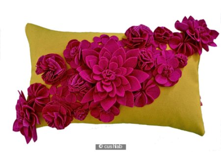 278795_fuchsia-and-yellow-floral-cushion