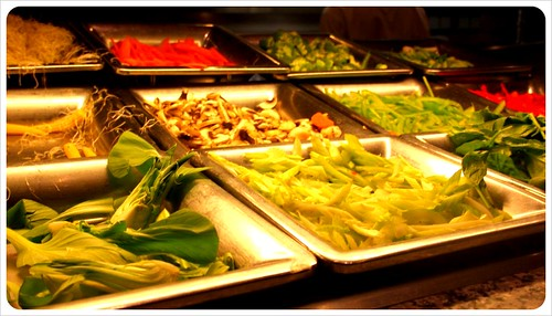 cruise ship vegetables & salad