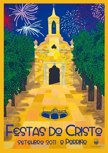 O Porriño 2011 - Festas do Cristo - cartel
