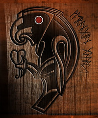 VARANGIAN RAVEN. (mikeyfreedom) Tags: viking byzantine runes norse runic varangianguard