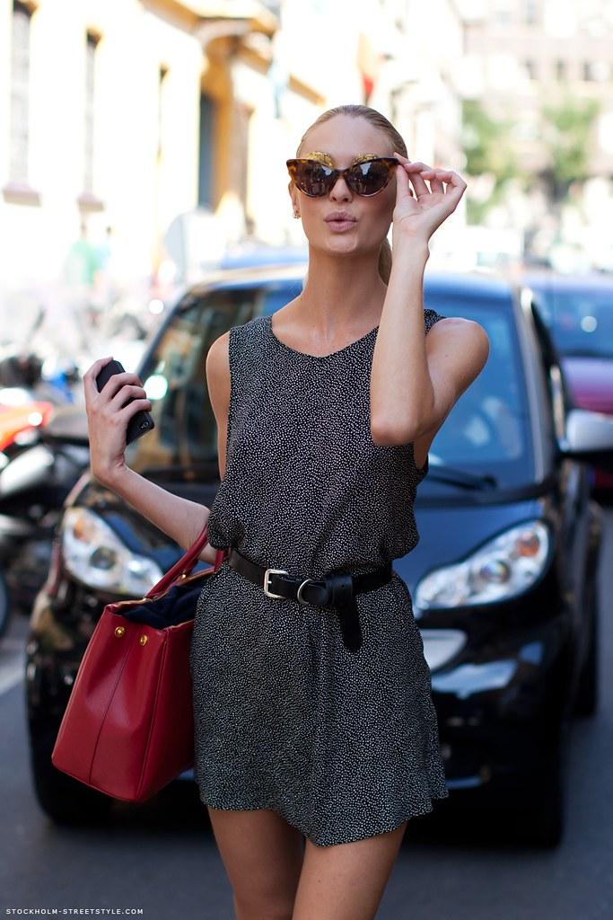 Stockholm Streetstyle Candice Swanepoel