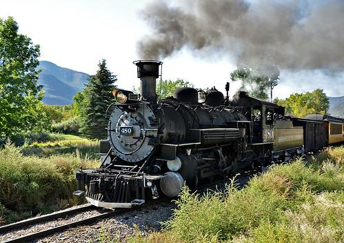 Durango to Silverton narrow-gauge railroad
