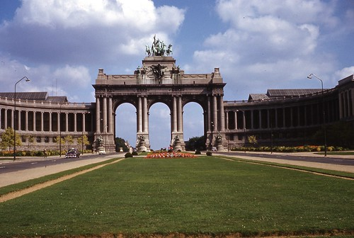 Arch of Independence Brussels