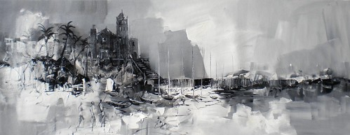 Sitges  impression   Painting Original