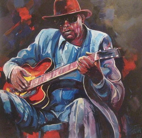 Jazz Icon - Painting