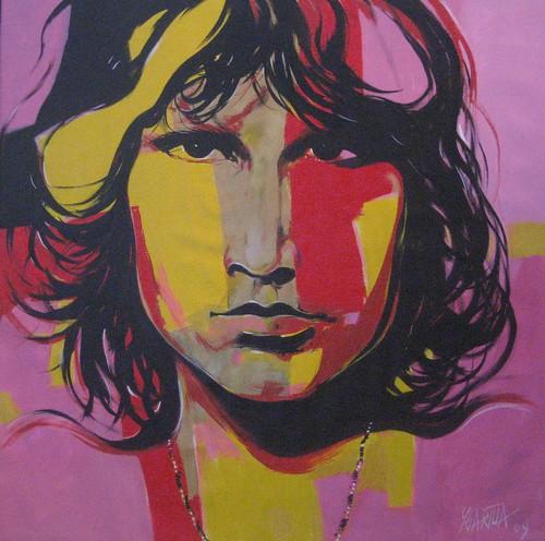 Kurt Cobain - Painting - Modern Expressionism