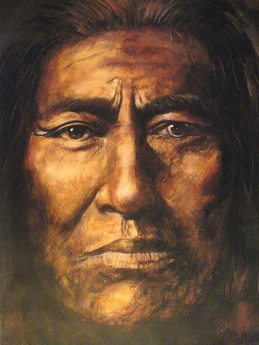 Cheyenne - Painting - Realism