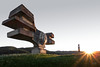 Croatia - Podgaric monument (sadaiche (Peter Franc)) Tags: sunset selfportrait monument decay croatia urbex partisans hrvatski spomenik podgaric